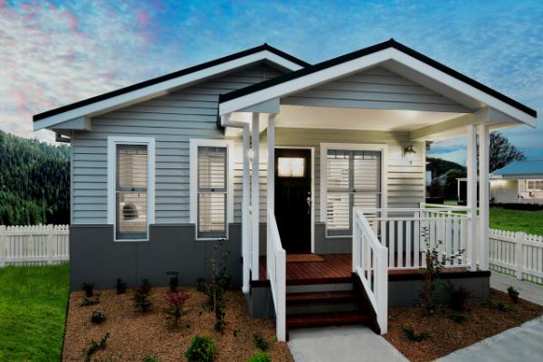 Mono 25 Modular Home - Hamptons Style
